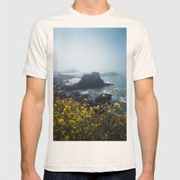 Yaquina Head Mens Fitted Tee Natural SMALL