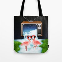 Momentary Static Tote Bag