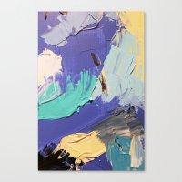 Wasser 5 Canvas Print