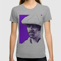 Donny Hathaway Womens Fitted Tee Athletic Grey SMALL