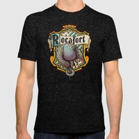 HP Rocafort House Crest Mens Fitted Tee Tri-Black SMALL