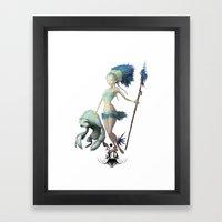 Folkbol TS Framed Art Print