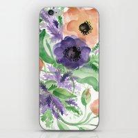 Spring Bouquet - Tulips & Anemones iPhone & iPod Skin