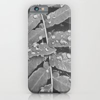 iPhone Cases featuring Colorless Rain by Jane Lacey Smith