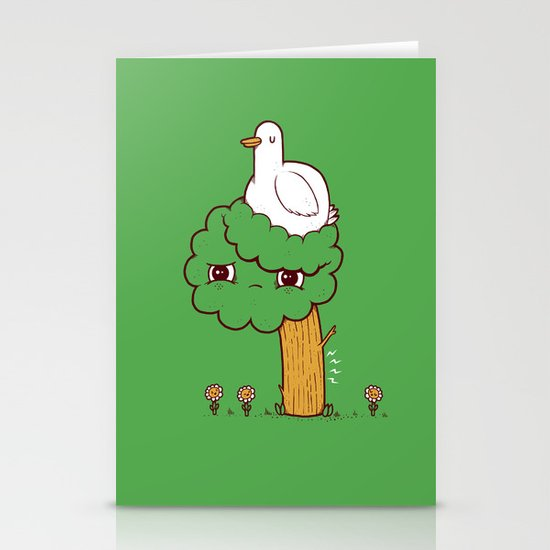 No Fat Chicks Stationery Card