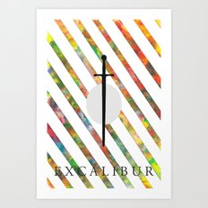 Excalibur Art Print