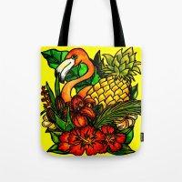 A Created Paradise - Tro… Tote Bag