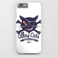 iPhone & iPod Case featuring Alley Cats by victor calahan
