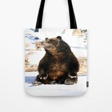 Chillin' Bear Tote Bag
