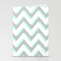 MOD CHEVRON Stationery Cards