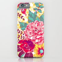 iPhone & iPod Case featuring Bloomin' Beauties - Sunshine by Patty Sloniger