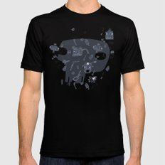 Karma SMALL Mens Fitted Tee Black