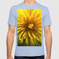 Dandelion  Mens Fitted Tee Tri-Blue SMALL