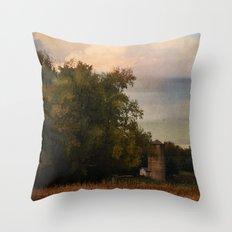 Rural Autumn Throw Pillow