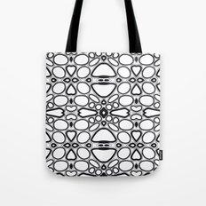 fancy grid Tote Bag