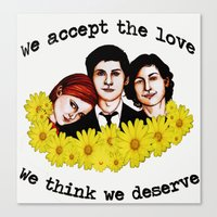 Perks of being a Wallflower Canvas Print