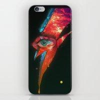 BLACK GLAM TEAR iPhone & iPod Skin