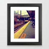 Here We Go Framed Art Print