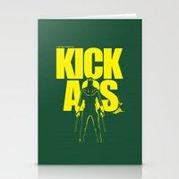 KICK ASS Stationery Cards