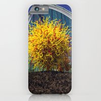 iPhone Cases featuring Chihuly Garden and Glass Museum by JMcCool