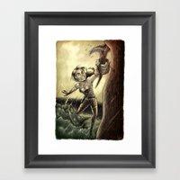 Lara Framed Art Print