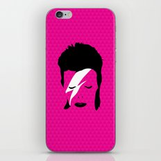 Ziggy Stardust - Pink iPhone & iPod Skin
