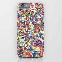 Rainbow Candy Dessert Sprinkles iPhone 6 Slim Case