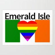Ireland Gay Wedding Art Print