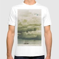 Traveller II Mens Fitted Tee White SMALL