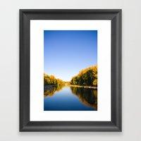 Autumn Reflections - Cal… Framed Art Print