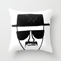 Heisenberg - Breaking Ba… Throw Pillow
