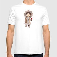 Eskimo Mens Fitted Tee White SMALL