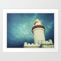 Lighthouse, Byron Bay Art Print
