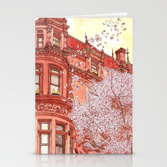 Bostonia Stationery Card