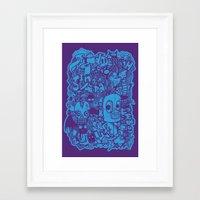 All Day Doodle Framed Art Print