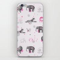 Animal Circus iPhone & iPod Skin