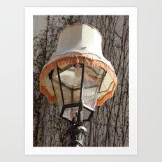 Lamp on Lamp Art Print