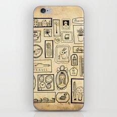 Frames II iPhone & iPod Skin