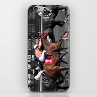 Race horses iPhone & iPod Skin