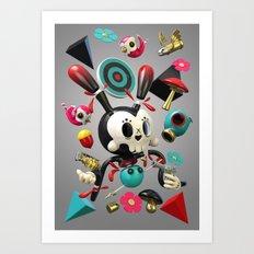 Remix Nr.2 Art Print