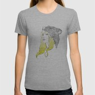 Goldilocks Womens Fitted Tee Athletic Grey SMALL