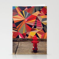 Urban Color Stationery Cards