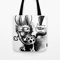 The Hyena and the Spider #1 Tote Bag