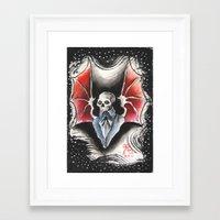 The Gentleman Demon Framed Art Print