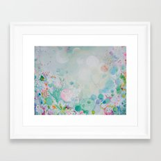 Bubble Garden Framed Art Print