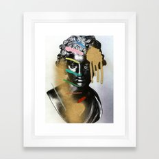 Composition 527 Framed Art Print