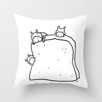 Bread For All Throw Pillow