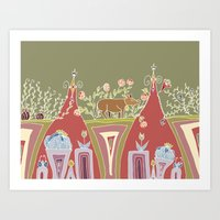Because I Met You In The… Art Print