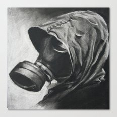 The Gas Mask Canvas Print