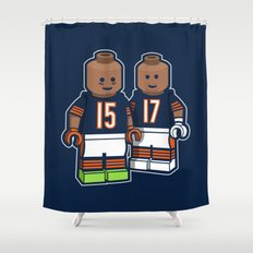 Bears Bricked: Brandon Marshall & Alshon Jeffery Shower Curtain